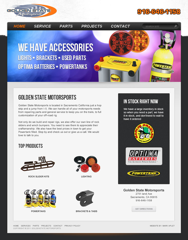 Golden State Motorsports - Homepage